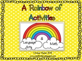 A Rainbow of Activities (Language Arts & Math)