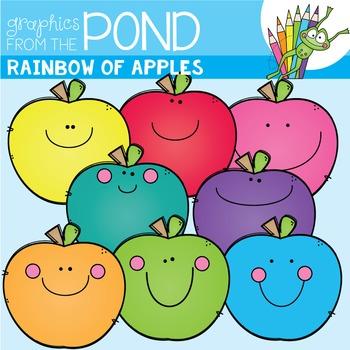 A Rainbow of Apples