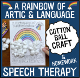 A Rainbow of Articulation and Language : A Speech Therapy