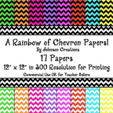A Rainbow of Chevron Papers