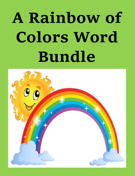 A Rainbow of Colors Microsoft Word Bundle