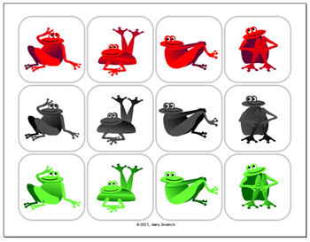 A Rainbow of Frogs