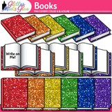 Reading Book Clip Art {Back to School Supplies for Classro