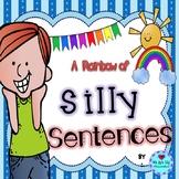 A Rainbow of Silly Sentences