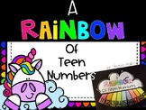 A Rainbow of Teen Numbers