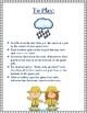 A Rainy Day- CVCE Card Game