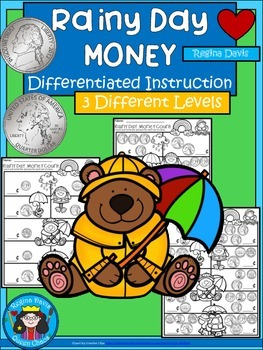 A+ Rainy Day Money Math: Differentiated  Practice
