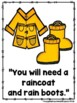A Rainy Day Weather Report (A Sight Word Reader and Teache