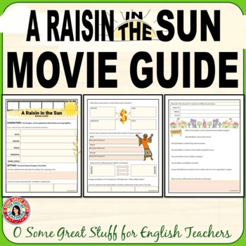 A Raisin in the Sun  2008 Movie Guide--Lots of Activities