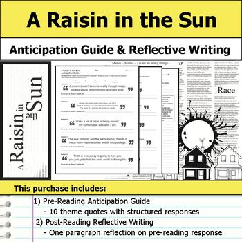 A Raisin in the Sun Unit Bundle