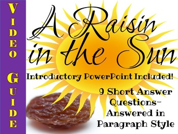 A Raisin in the Sun: A Video Guide