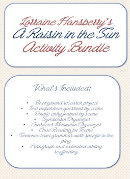 A Raisin in the Sun Activities