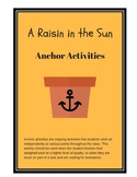 A Raisin in the Sun Anchor Activities