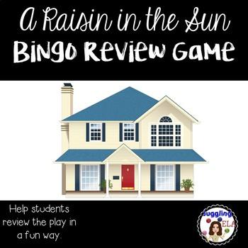A Raisin in the Sun Bingo Review Game