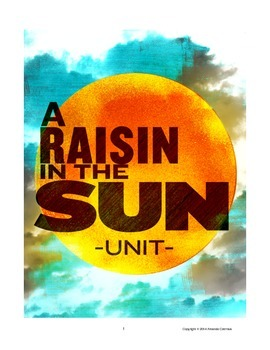 """A Raisin in the Sun"" Complete Unit"