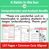 A Raisin in the Sun – Comprehension and Analysis Bundle