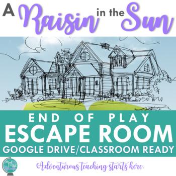 A Raisin in the Sun:  End of Play Escape Room {9-12 ELA}