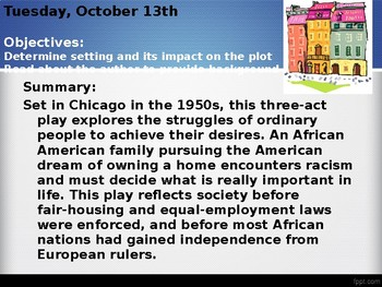 A Raisin in the Sun Introduction
