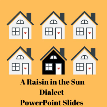 A Raisin in the Sun- Powerpoint on Dialect