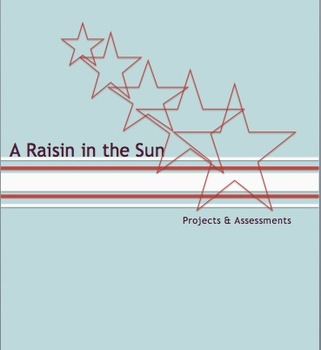 A Raisin in the Sun Projects and Essay Assessments #edtech