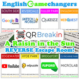A Raisin in the Sun REVERSE Escape Room! Break IN to the Play with Monopoly!