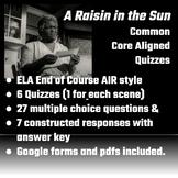 A Raisin in the Sun Scene Quizzes