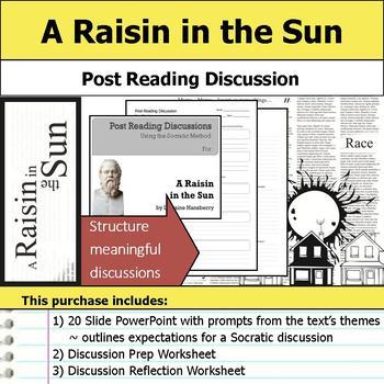 A Raisin in the Sun - Socratic Method - Post Reading Discussions