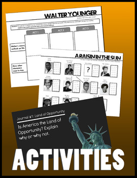 A Raisin in the Sun Study Guides and Activities