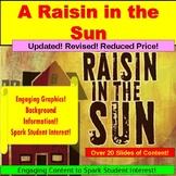 A Raisin in the Sun, Teaching Lessons PowerPoint