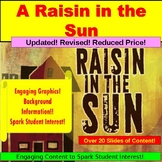 A Raisin in the Sun, Teaching Lessons PowerPoint