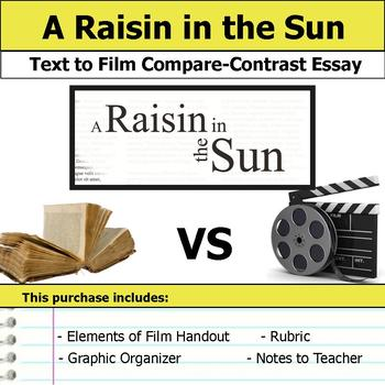 A Raisin in the Sun - Text to Film Essay