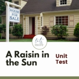 A Raisin in the Sun Unit Test