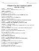 A Raisin in the Sun-  Teacher's Copy Vocabulary List (2 Weeks)
