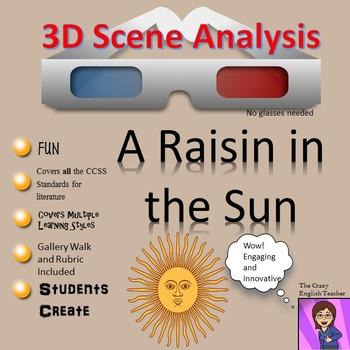 A Raisin in the Sun:3D Scene Analysis Project Diorama: Standards Based
