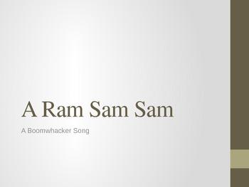 A Ram Sam Sam - A Boomwhacker Song