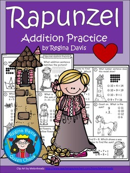 A+  Rapunzel: Addition Practice