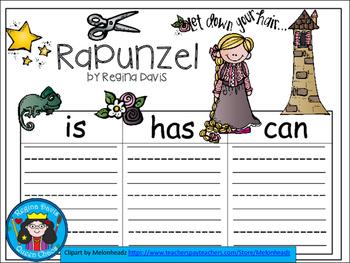 A+ Rapunzel... Three Graphic Organizers