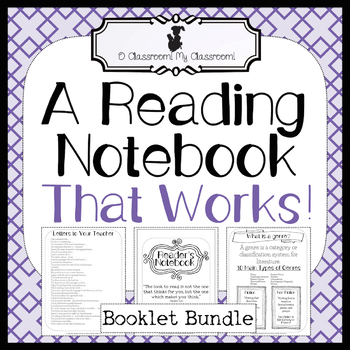 A Reading Notebook That Works! *Common Core Aligned! All Inclusive