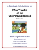 A Reading Guide for If You Traveled on the Underground Railroad