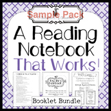 A Reading Notebook That Works! Sample Pack *Common Core Aligned!