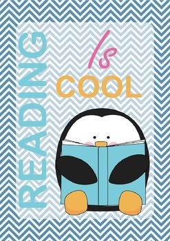 A Reading Poster: reading is COOL!