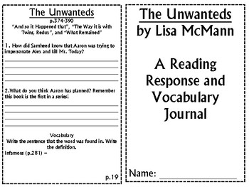 The unwanteds quiz