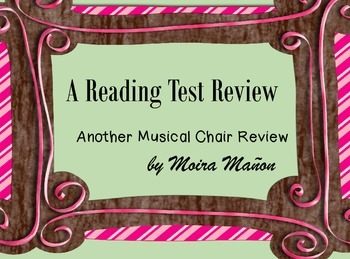 STAAR Reading Test Review - A Musical Chairs Review #2