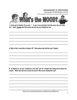 A Reading Workbook for Lost and Found, by Andrew Clements