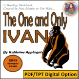 The One and Only Ivan, by Katherine Applegate: A PDF & TpT