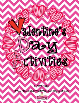 "A ""Ready to Use"" Valentine's Day Activity Packet"