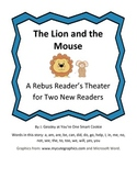 A Rebus Reader's Theater for The Lion and The Mouse by Jennifer Gessley