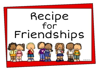 A Recipe for Friendship