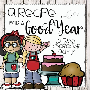 A Recipe for a Good Year-Character Activity