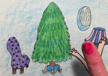 Recorder Finger Puppet Show: Christmas at Rubunzel's Castle